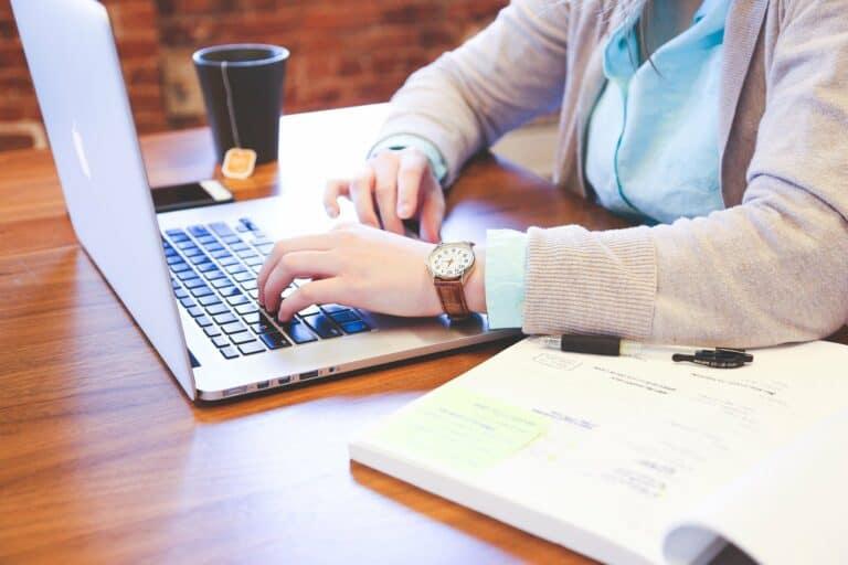Men Computer working